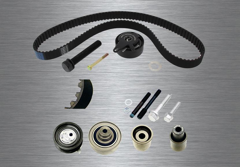 timing belt and V-ribbed belt (distribution) kits
