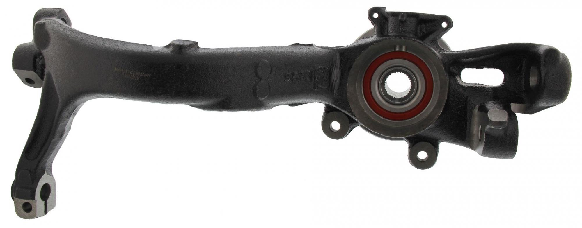 MAPCO 107751/4 Achsschenkel Radlagergehäuse Ø75mm Radlager vormontiert links Audi A4 B5
