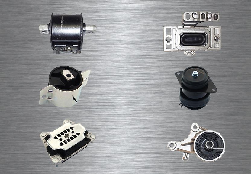 037 Motorlager und Getriebelager
