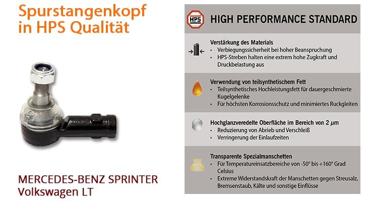 Spurstangenkopf in HPS Qualität
