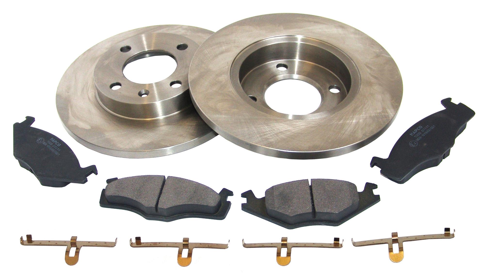 MAPCO 47863 Bremsscheiben mit Bremsbel/ägen