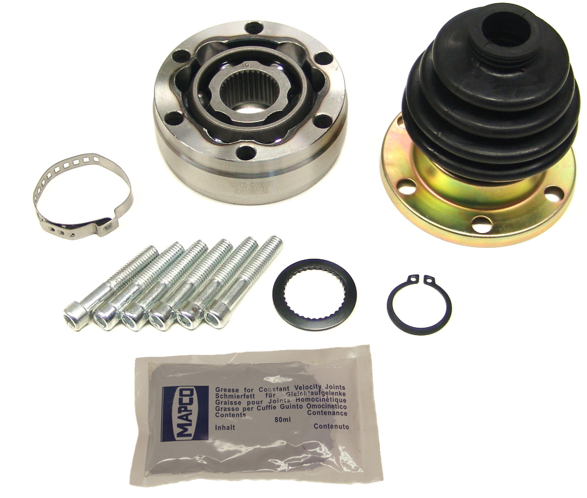 CITROEN AX 1.1 PETROL INNER DRIVESHAFT BOOTKIT CV JOINT BOOT KIT 86/>97