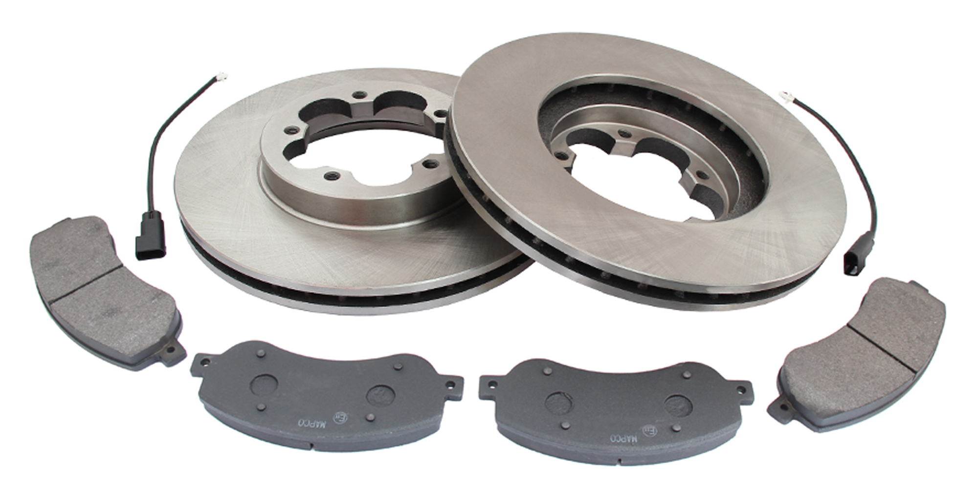 MAPCO 47667 Bremsensatz Bremsscheiben mit Bremsbelägen Vorderachse