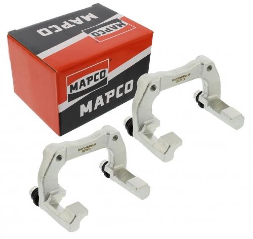 MAPCO 4836/2 Bremssattelhalter links + rechts Hinterachse VW Golf 4 R32