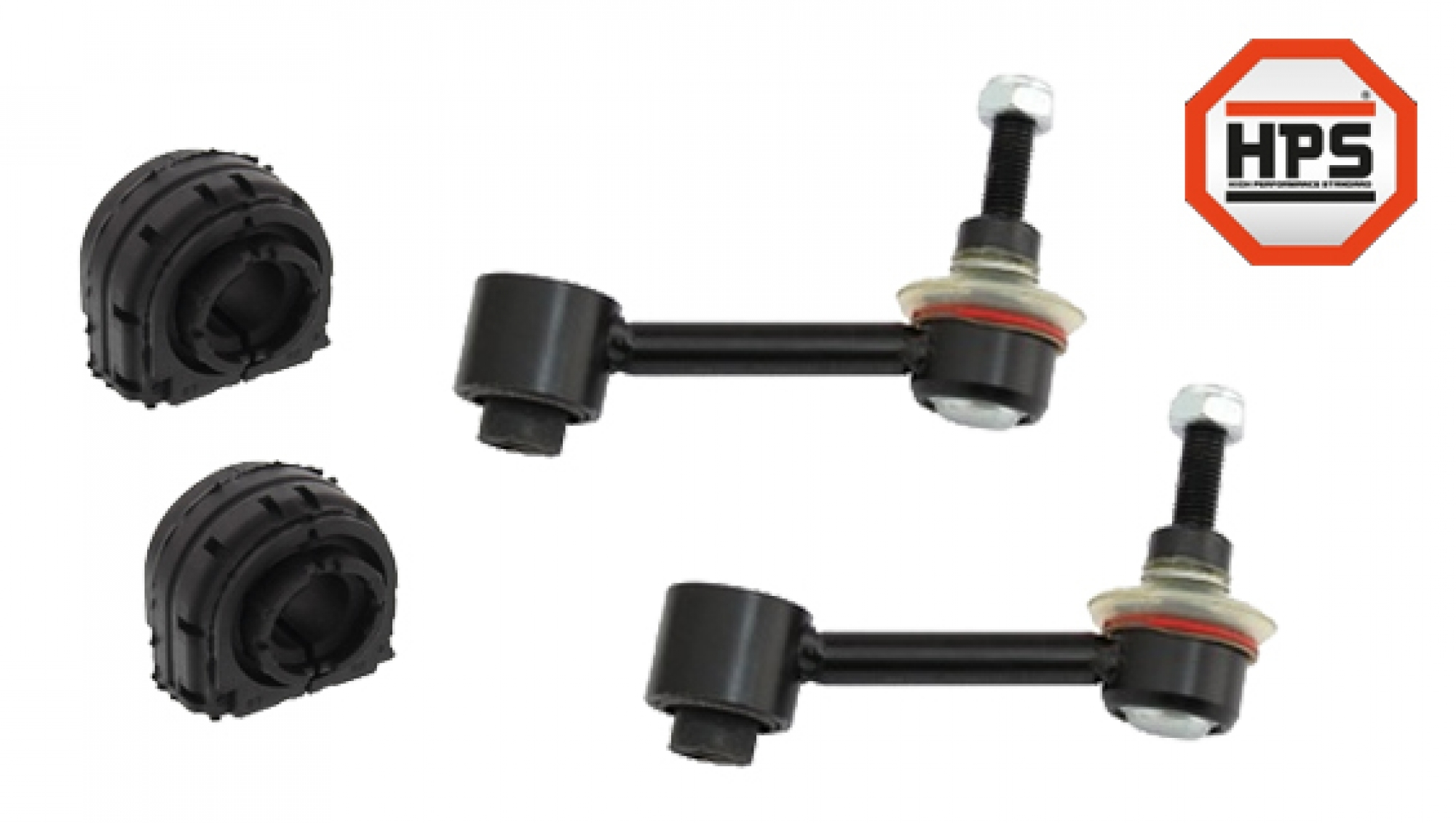 2x Koppelstange Stabistrebe Pendelstütze Verstärkt HPS vorne für Citroen Peugeot