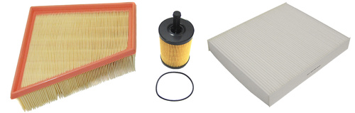 MAPCO 68809 Filtersatz Ölfilter Luftfilter Pollenfilter