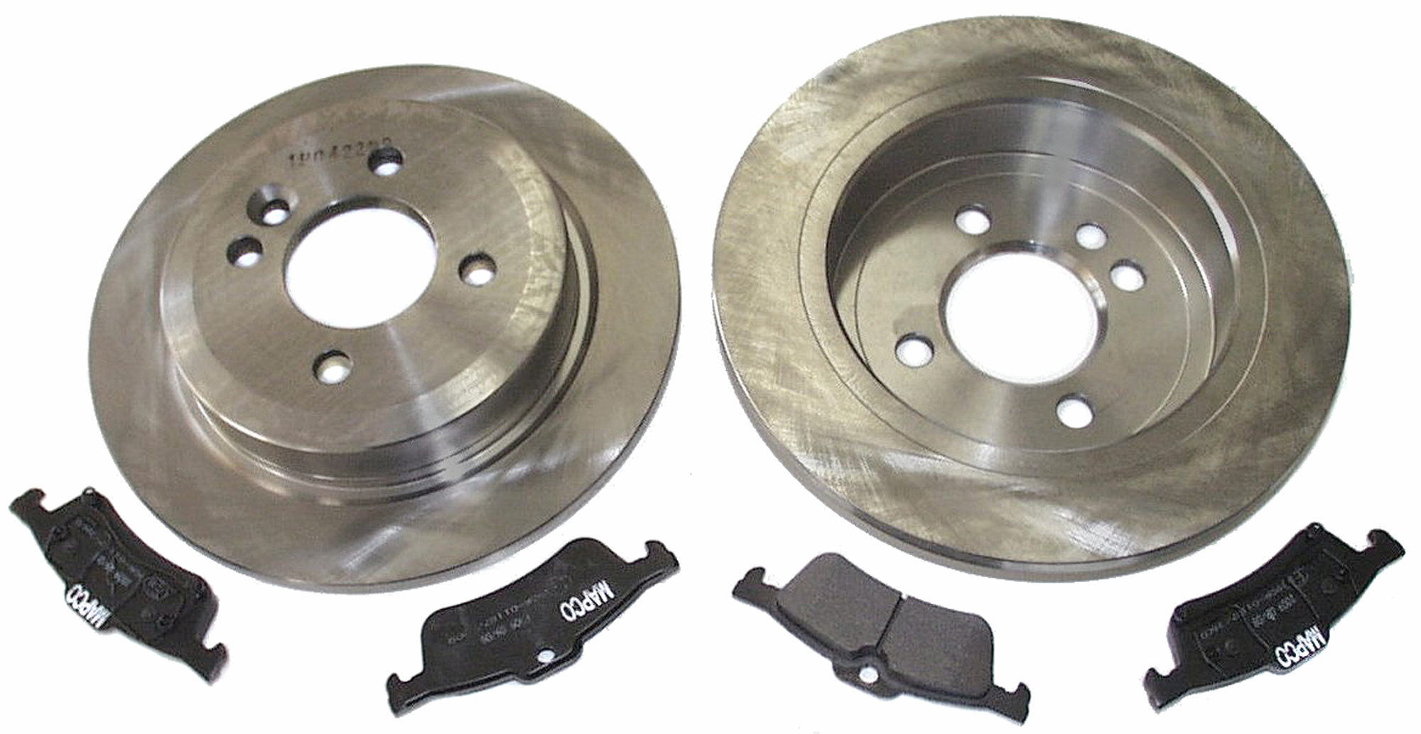 Rear Brake Pads Brake Discs 259mm Solid Fits Mini Mini One D One Works S Works