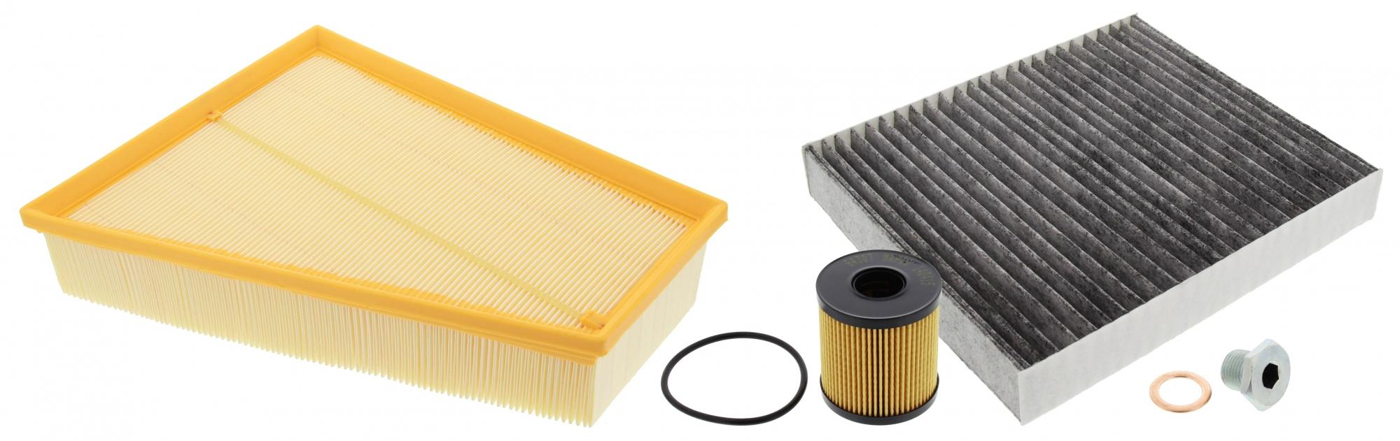 MAPCO 68844 Filtersatz Luftfilter Ölfilter Aktivkohlefilter