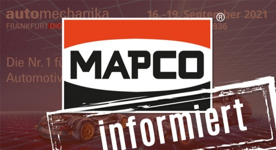 MAPCO auf der Automechanika 2021