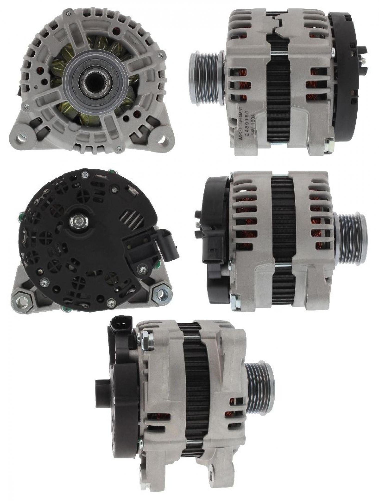 MAPCO 113612 Lichtmaschine Generator