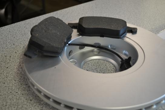 HPS-Bremsscheiben beschichtet und hochgekohlt