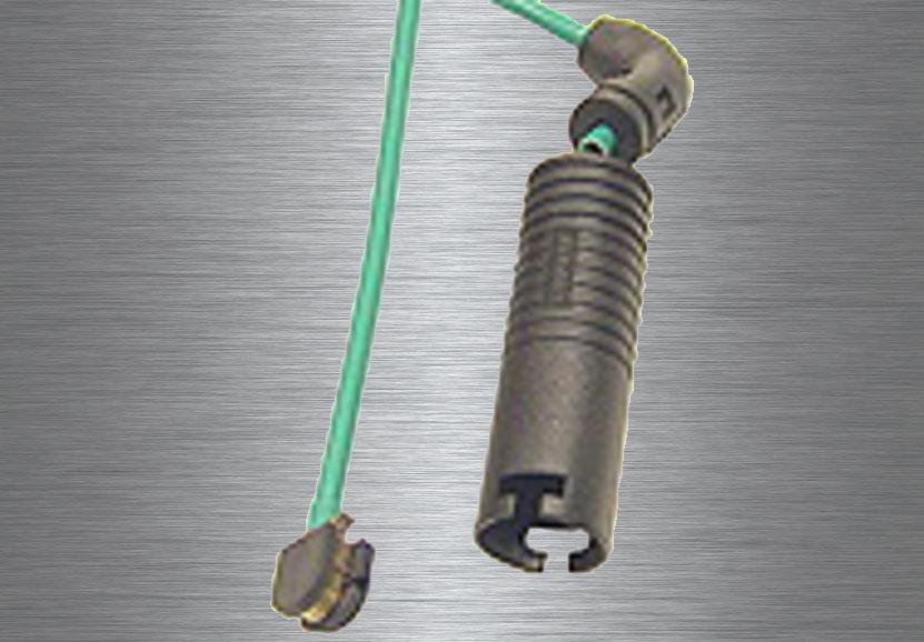 Wear indicators for brake pads