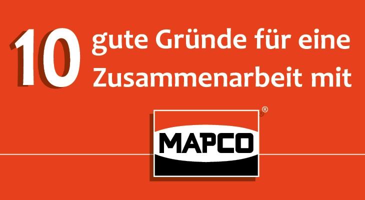 10 Gründe für MAPCO
