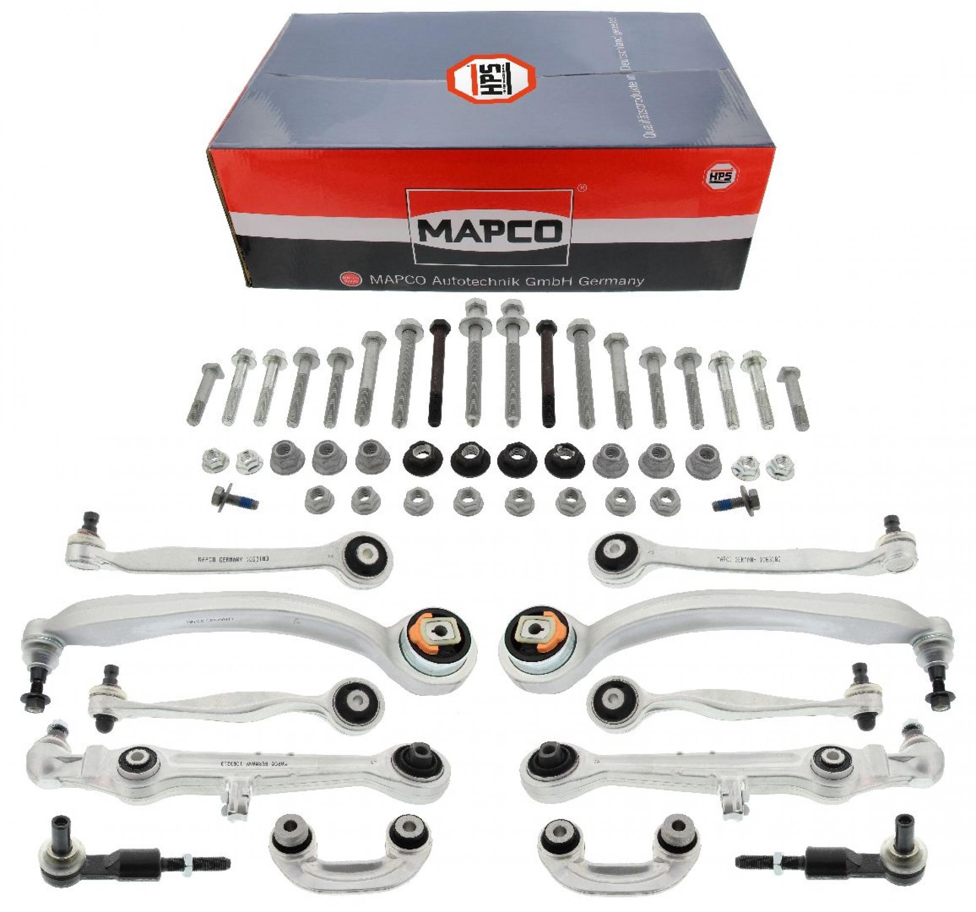 MAPCO 59827/1HPS Querlenker Satz HPS verstärkt Vorderachse