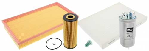 MAPCO 68803 Filtersatz Ölfilter Luftfilter Pollenfilter Kraftstofffilter