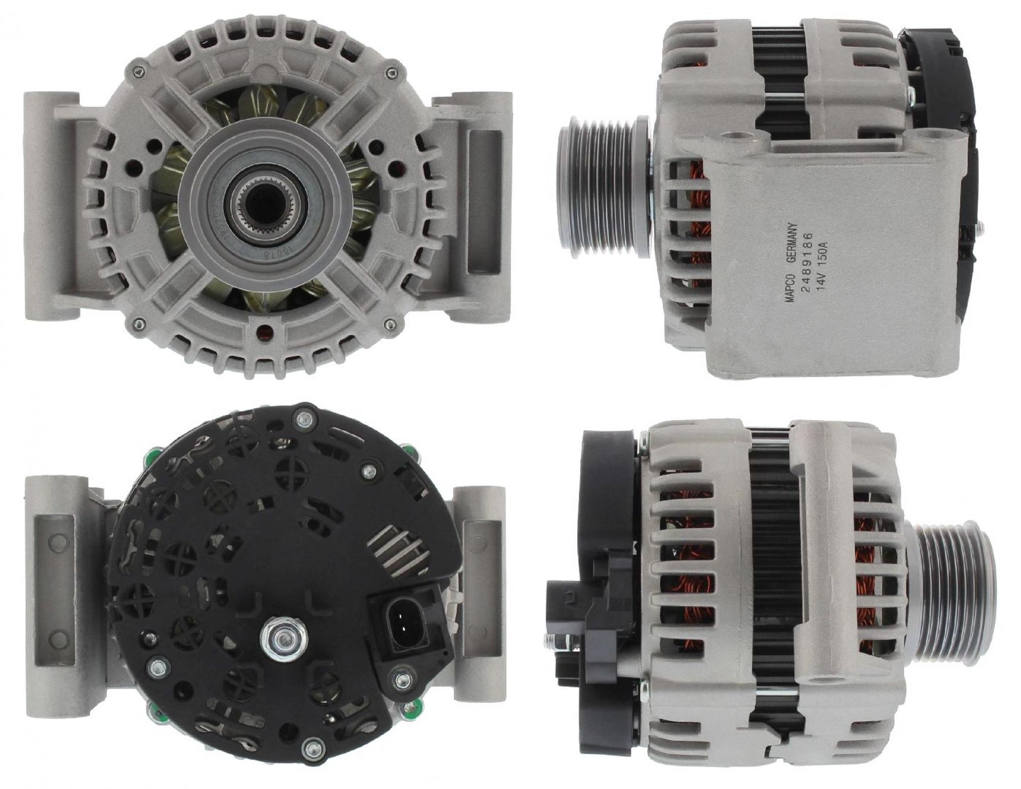 MAPCO 113609 Lichtmaschine Generator