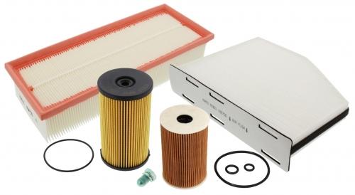 MAPCO 68821 Inspektionspaket Filtersatz 5 teilig