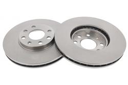 MAPCO 15844/2 Bremsscheiben 2x Bremsscheibe Vorderachse