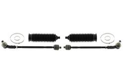 MAPCO 53724/1 Spurstange links und rechts, 2 Stück, mit Manschetten und Schellen