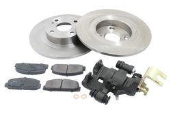 MAPCO 4504/5 Bremsensatz Bremsscheiben mit Bremsbelägen