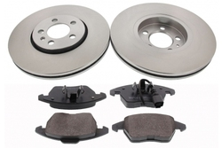 MAPCO 47934 brake kit