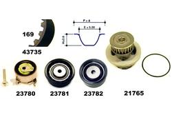 MAPCO 41735/2 Water Pump & Timing Belt Kit