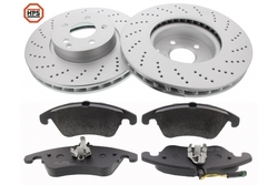 MAPCO 47790HPS brake kit