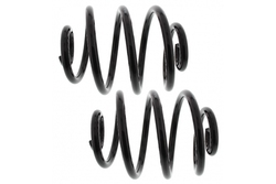MAPCO 70750/2 Fahrwerksfedern Satz Hinterachse Miniblock