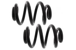 MAPCO 71889/2 Fahrwerksfedern Satz Hinterachse Schraubenfeder mit konstantem Drahtdurchmesser