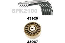 MAPCO 23922 Kit Cinghie Poly-V