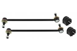 MAPCO 53665 2x Koppelstange verstärkt + Stabibuchsen 18mm vorn