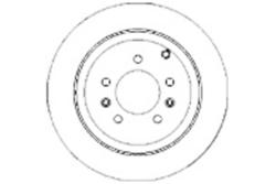 MAPCO 15314 Brake Disc