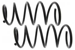 MAPCO 70982/2 Fahrwerksfedern Satz Vorderachse Schraubenfeder