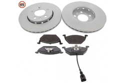 MAPCO 47855HPS brake kit