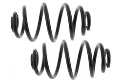MAPCO 72820/2 Fahrwerksfedern Satz Hinterachse Miniblock