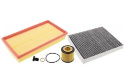 MAPCO 68831 Filtersatz Ölfilter Luftfilter Innenraumfilter Ölablaßschraube