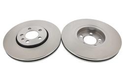 MAPCO 15832/2 Bremsscheiben 2x Bremsscheibe Vorderachse