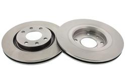 MAPCO 15310/2 Bremsscheiben 2x Bremsscheibe Vorderachse