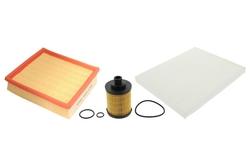 MAPCO 68721 Filtersatz Ölfilter Luftfilter Pollenfilter