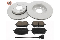 MAPCO 47780HPS brake kit
