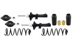 MAPCO 40943/1 Stoßdämpfer Satz VA Öldruck mit Federn und Domlager
