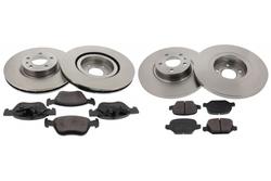 MAPCO 47016/1 Kit de freins, frein à disques