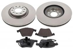 MAPCO 47905 Bremsensatz Bremsscheiben mit Bremsbelägen Vorderachse