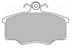 MAPCO 6138 Kit pastiglie freno, Freno a disco