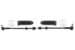 MAPCO 53864/1 Spurstange links und rechts, 2 Stück, mit Manschetten und Schellen