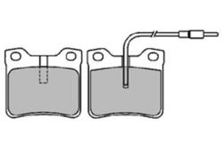 MAPCO 6587 Brake Pad Set, disc brake