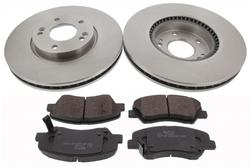 MAPCO 47249 Bremsensatz Bremsscheiben mit Bremsbelägen