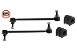 MAPCO 53154/1HPS 2x Koppelstange verstärkt + Stabibuchsen 21mm vorn