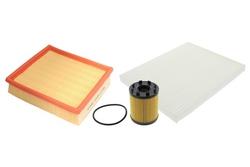 MAPCO 68722 Filtersatz Ölfilter Luftfilter Pollenfilter