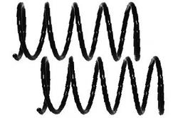 MAPCO 70403/2 Fahrwerksfedern Satz Vorderachse Schraubenfeder